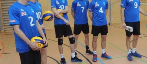 Volleyball Training an der Volksschule Hohenzell