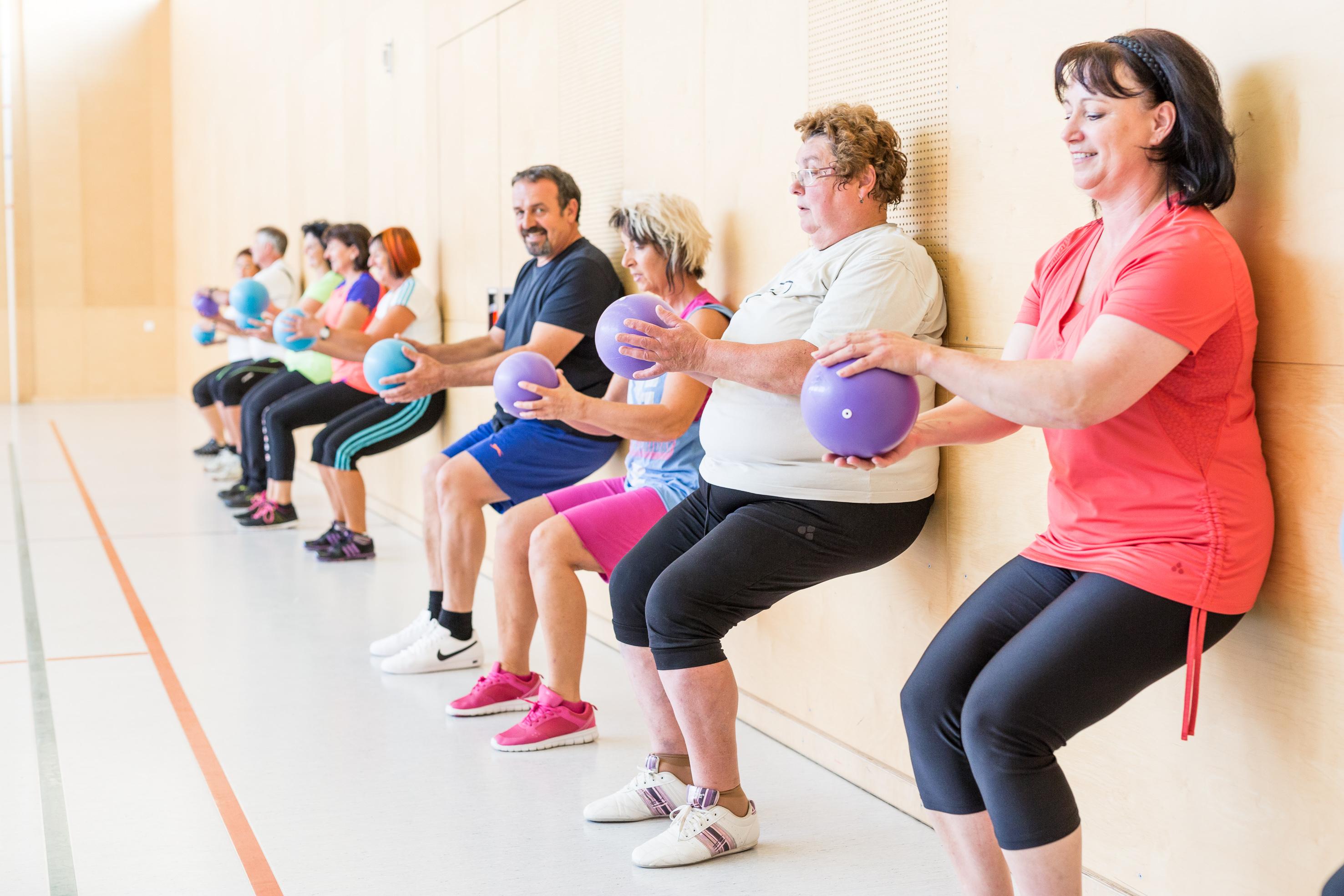 GRATIS Bewegungsprogramm für Übergewichtige