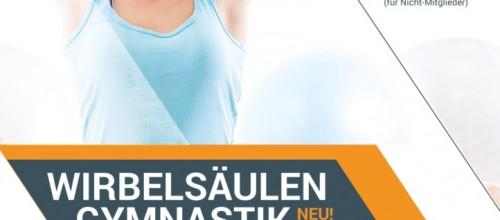 Rücken – Fit Gymnastik gestartet!